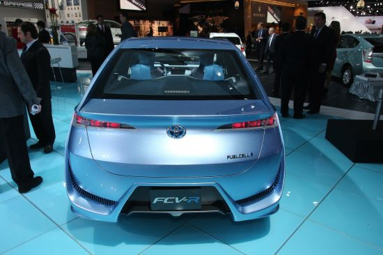 Toyota FCV-R Concept Detroit