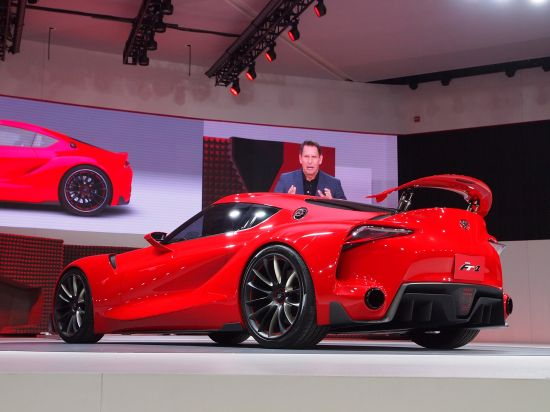 Toyota FT-1 Detroit