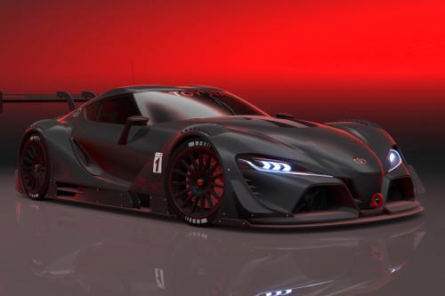 Тойота ФТ-1 зрение GT-это гонки концепцию Гран Туризмо 6 [видео]
