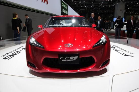 Toyota FT-86 concept Geneva