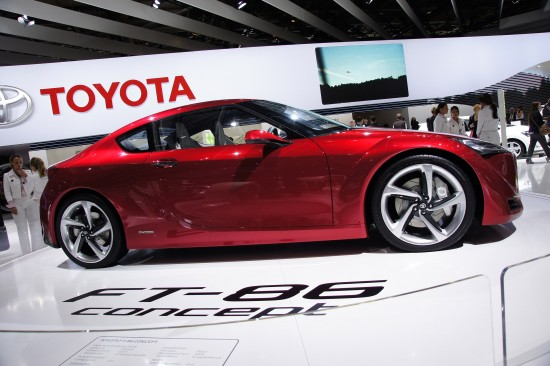 Toyota FT-86 Concept Paris