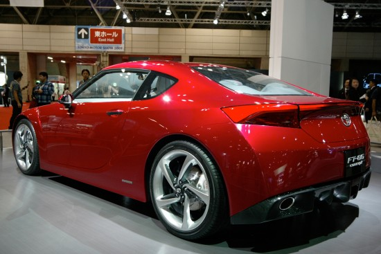 Toyota FT-86 Concept Tokyo
