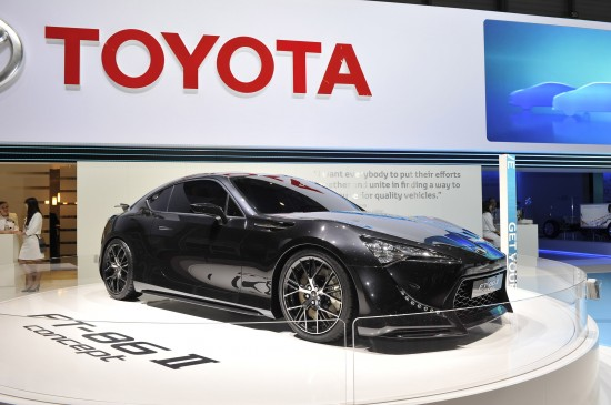 Toyota FT-86 II concept Geneva