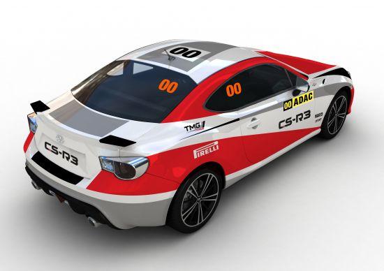 Toyota GT86 CS-R3 Rally Car
