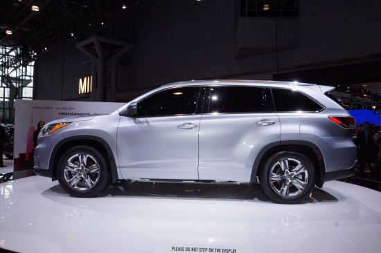 Toyota Highlander SUV New York 2013