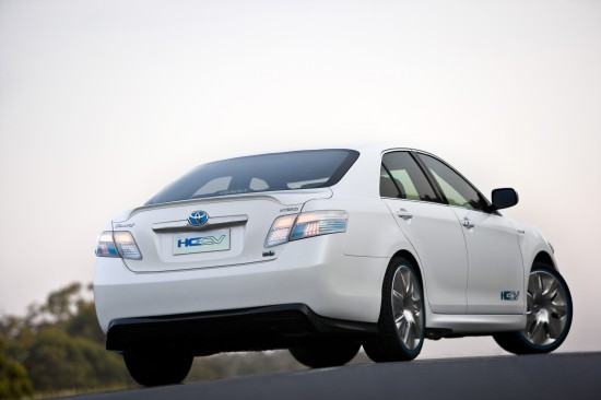 Toyota Hybrid Camry Concept Vehicle