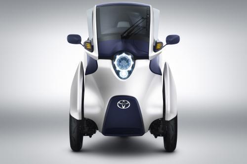 Toyota i-Road Concept с мировой премьеры в Женеве