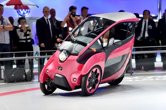 Toyota i-Road Paris