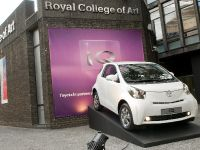 Toyota iQ at the Royal College of Art, 1 of 9