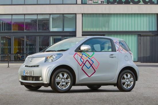 Toyota iQ - Customised Clever Cars