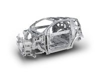 Toyota iQ multi-load path body structure