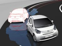 Toyota iQ vehicle Stability Control (VSC+) prevents loss of car control