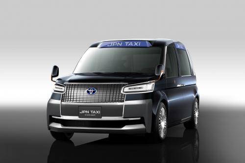 Концепт Такси от Toyota под кодовым названием JPN. Фотографии