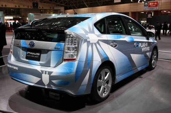Toyota PRIUS PLUG-IN HYBRID Concept Tokyo