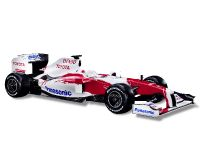 Panasonic Toyota Racing unveils its new TF109 race car