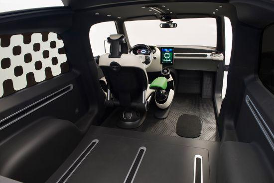 Toyota U-squared Urban Utility Concept