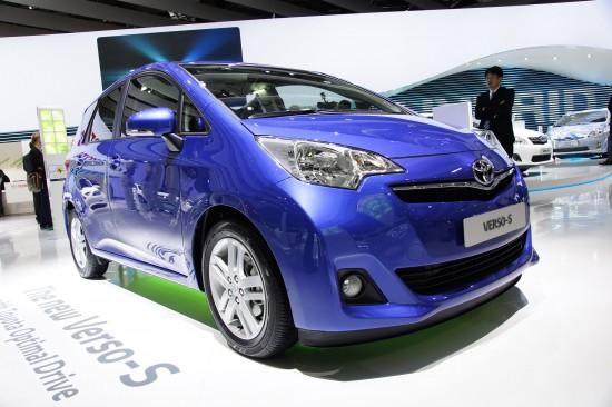 Toyota Verso-S Paris
