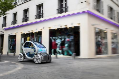 Renault Twizy-Z E Новый электро-концепт. Эксклюзивные фотографии.