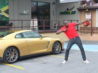 Usain Bolt Golden Nissan GT-R, 1 of 14