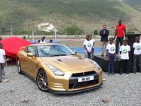 Usain Bolt Golden Nissan GT-R, 3 of 14
