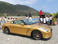 Usain Bolt Golden Nissan GT-R, 4 of 14