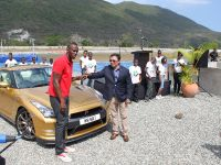 Usain Bolt Golden Nissan GT-R, 5 of 14