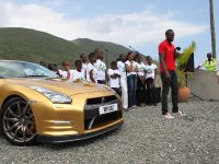 Usain Bolt Golden Nissan GT-R, 11 of 14
