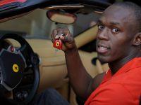 Usain Bolt in Ferrari F430 Spider, 2 of 6