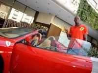 Usain Bolt in Ferrari F430 Spider, 3 of 6