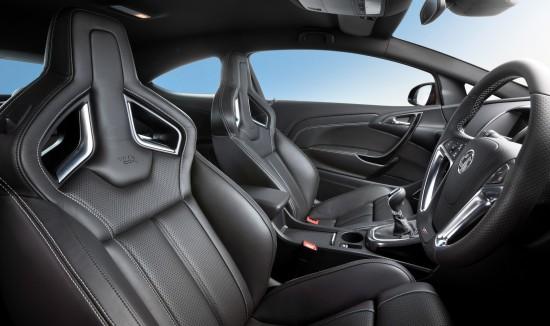 Vauxhall 18-way adjustable ultimate hot seats
