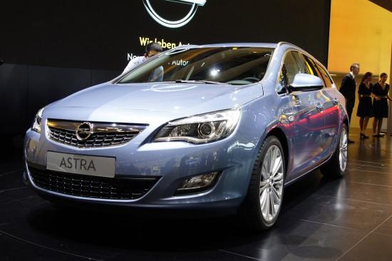 Vauxhall Astra Estate Paris
