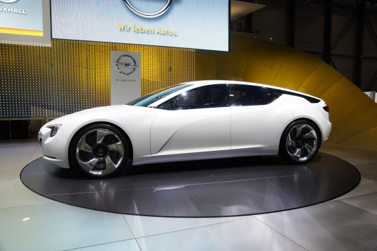 Vauxhall Flextreme GT/E concept Geneva