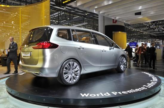 Vauxhall Zafira Tourer Concept Geneva