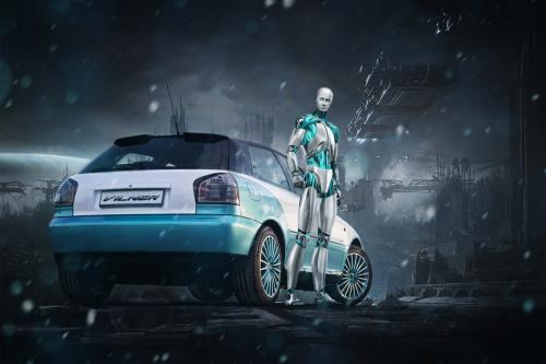 Audi A3 Eset tuned by Вильнер