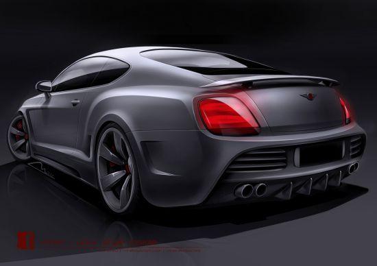 Vilner Bentley Continental GT Design Project