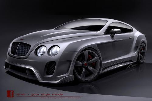 Тизер: Bentley Continental GT Вильнер [видео]