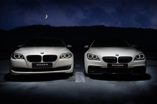 Зимняя сказка: Вильнер превращает BMW 5-Series F10 и 6-Series M F12 [видео]