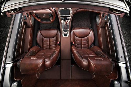 Горячая: Вильнер улучшает интерьер Mercedes-Benz SL