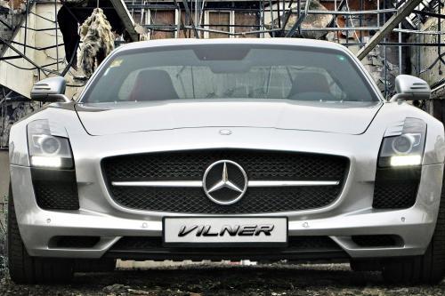 Горячая: Вильнер Mercedes-Benz SLS AMG наконец-то раскрыт