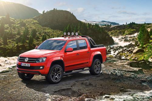 Volkswagen Amarok Canyon Concept (2012) - picture 1 of 2
