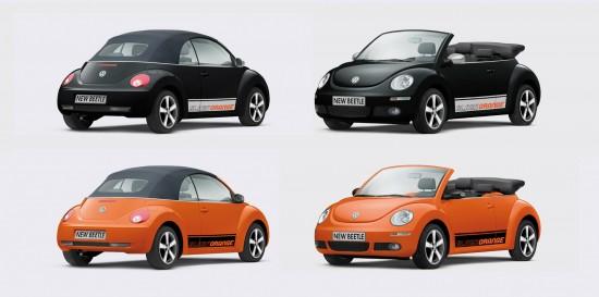 Volkswagen Beetle BlackOrange