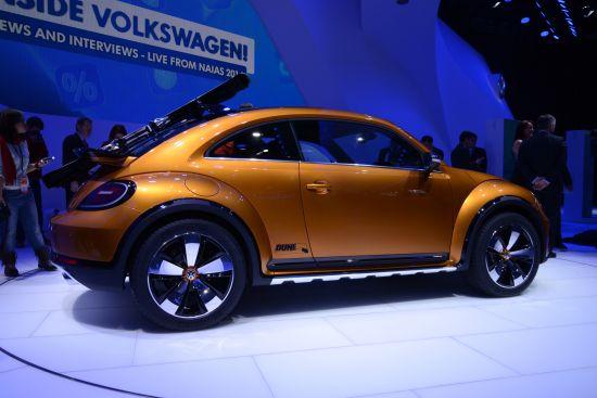 Volkswagen Beetle Dune Concept Detroit