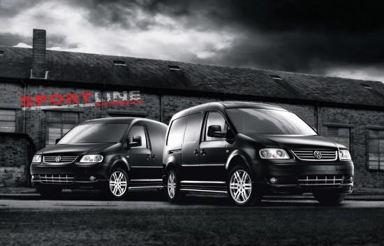 Volkswagen Caddy Sportline and Maxi