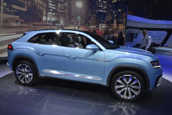 Volkswagen Cross Coupe GTE Detroit