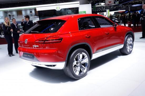 Volkswagen Cross Coupe plug-in hybrid Geneva