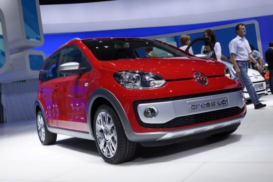 Volkswagen cross up! Frankfurt
