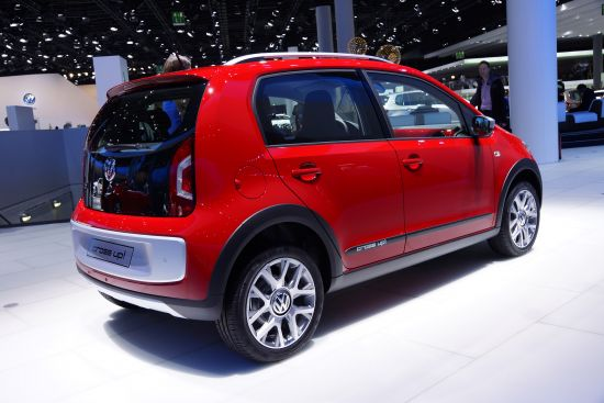 Volkswagen cross up! Frankfurt