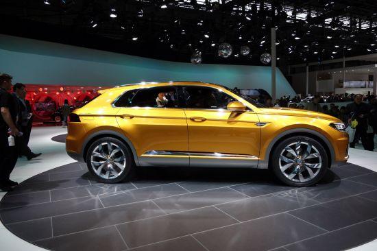 Volkswagen Crossblue Concept Shanghai