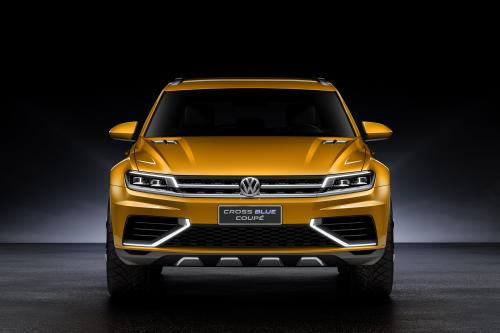 Дебют Volkswagen CrossBlue Coupe Concept В Китае