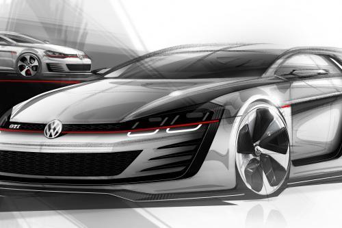 Премьера: Volkswagen Design Vision GTI Concept